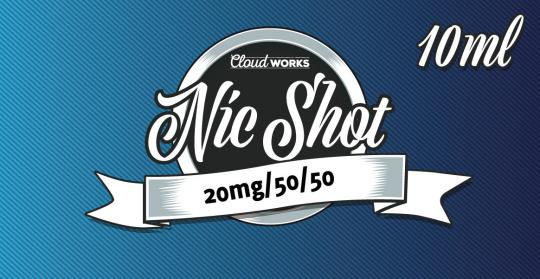 10x 50PG/50VG Nikotin-Shot 20mg | 10ml