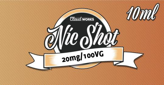 10x Pure VG Nikotin-Shot 20mg | 10ml